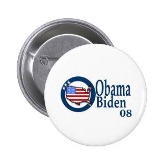 Obama Biden 08 2 Inch Round Button