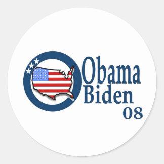Obama Biden 08 Stickers