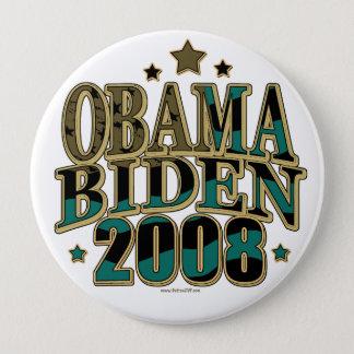 Obama Biden '08 Ticket 4 Inch Round Button