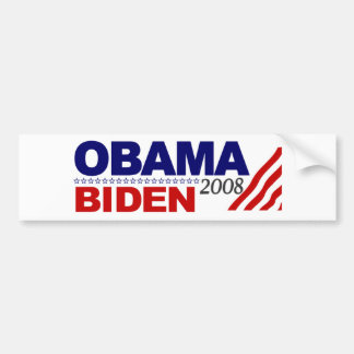 Obama Biden 2008 Bumper Sticker