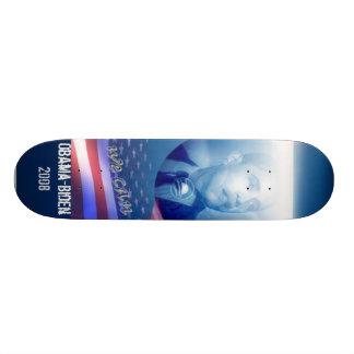 Obama/biden 2008 skateboard customisable