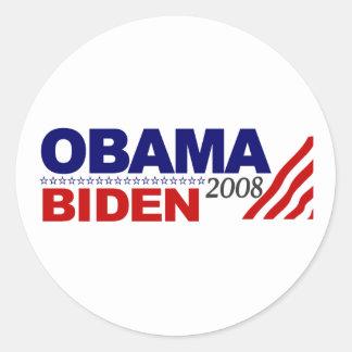 Obama Biden 2008 Stickers