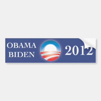 Obama & Biden  2012 bumper sticker