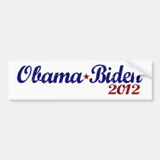 Obama Biden 2012 Bumper Sticker