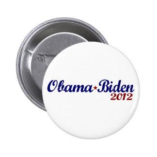 Obama Biden 2012 Buttons