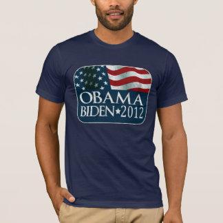 Obama Biden 2012 Election distressed T-Shirt