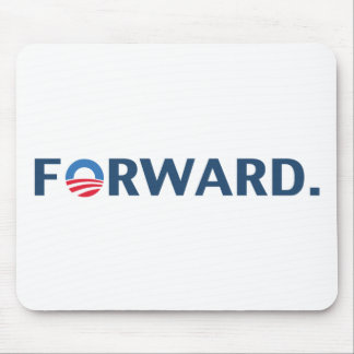 Obama / Biden 2012 Forward Slogan (Dark Blue) Mouse Pad