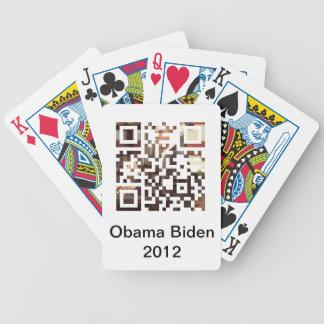 Obama Biden 2012 Playing Card
