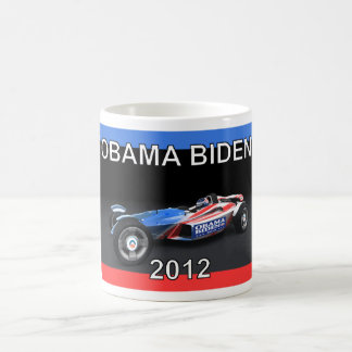 Obama Biden 2012 Racing Car - Hot and Sleek Mug