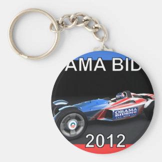 Obama Biden 2012 Racing Car Key Chain