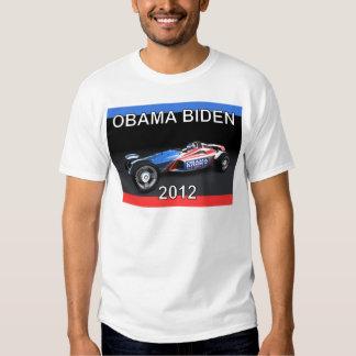 Obama Biden 2012 Racing Car T-shirts