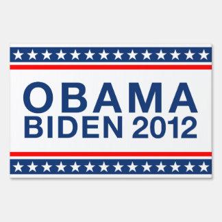 Obama Biden 2012 Sign