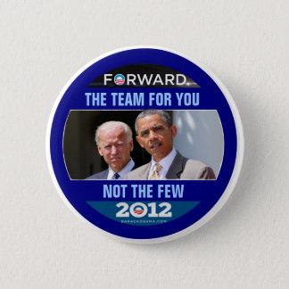Obama Biden 2012 The Team for You 2 Inch Round Button