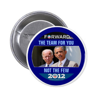 Obama Biden 2012 The Team for You 2 Inch Round Button