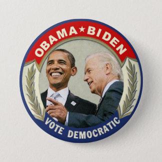 Obama Biden 2012 Vote Democratic 3 Inch Round Button