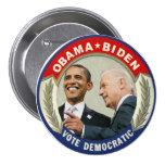Obama Biden 2012 Vote Democratic Button