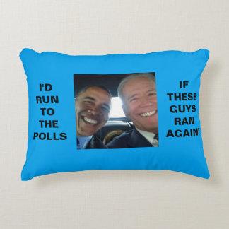 "Obama-Biden 2016 -  12"" x 16"" Accent Pillow"