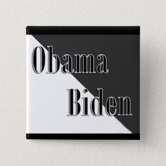 Obama Biden 2 Inch Square Button