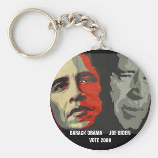 obama biden art copy , BARACK OBAMA     JOE BID... Keychain