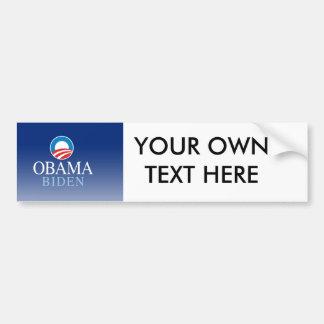 Obama/Biden Autocollant De Voiture