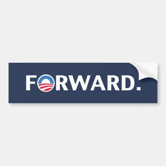 Obama Biden Bumper Sticker 2012 Forward