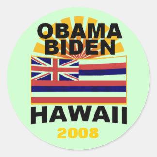 Obama Biden HAWAII Sticker