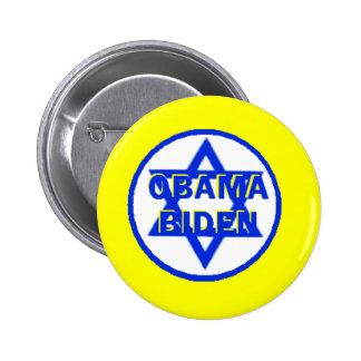 Obama Biden Jewish Button
