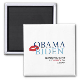 Obama Biden Magnet - anti Palin/McCain