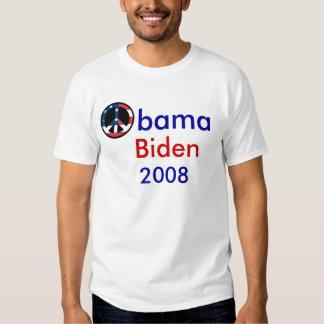Obama Biden Peace 2008 Shirts