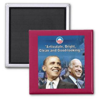 Obama Biden Square Magnet