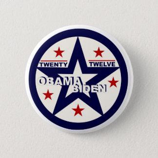 Obama/Biden Twenty Twelve 2 Inch Round Button