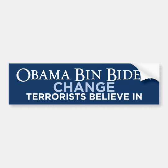 Obama Bin Biden Bumper Sticker