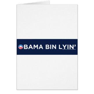 Obama bin Lyin' Card