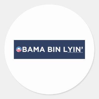 Obama bin Lyin' Stickers