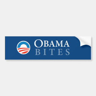 Obama Bites Bumper Sticker