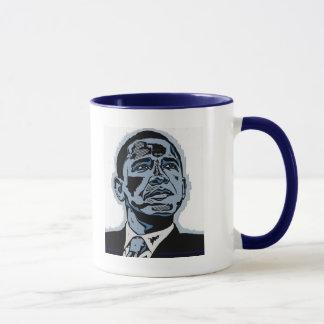 Obama Blue Mug