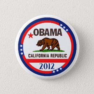 Obama California 2 Inch Round Button