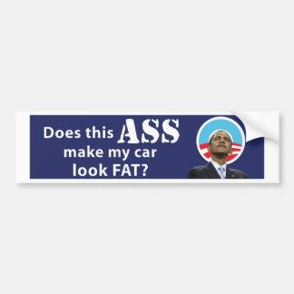 Obama Car Fat11x3 copy Bumper Sticker