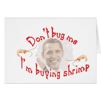 obama greeting card