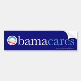 Obama Cares Bumper Sticker