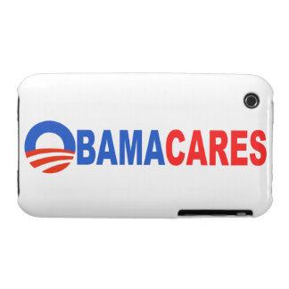 Obama Cares Case-Mate iPhone 3 Cases