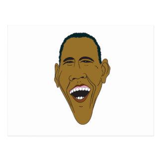 Obama Caricature Postcard