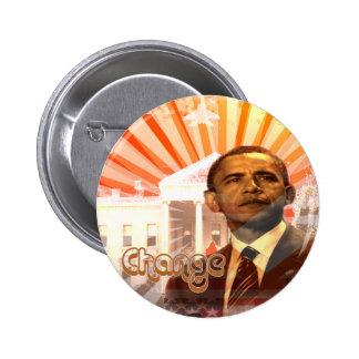 Obama Change 2 Inch Round Button
