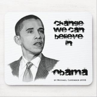 OBAMA Change Mousepad
