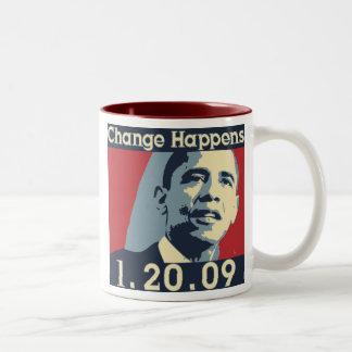 Obama Change Mug