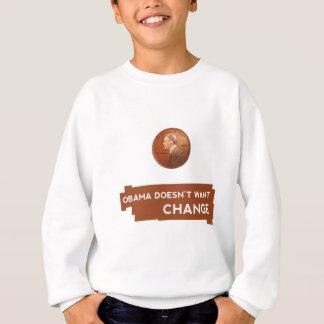 Obama-Change.png Sweatshirt