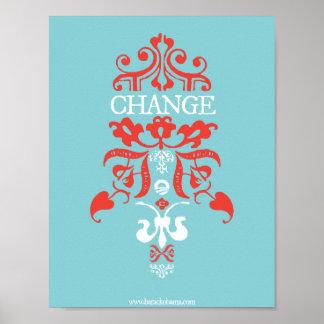 OBAMA: Change Poster