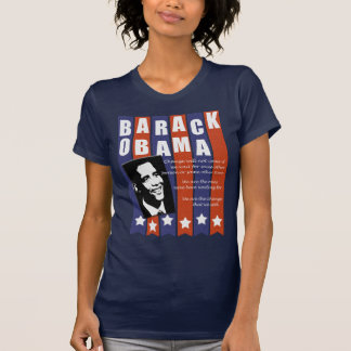Obama Change Speech t shirt