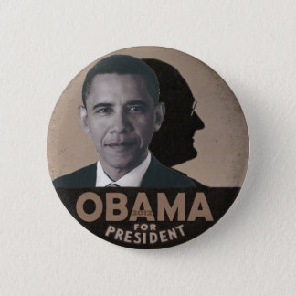 Obama channels FDR 2 Inch Round Button