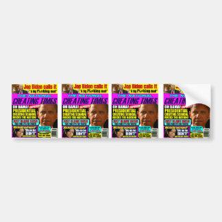 Obama Cheating Scandal Bumper Stickers